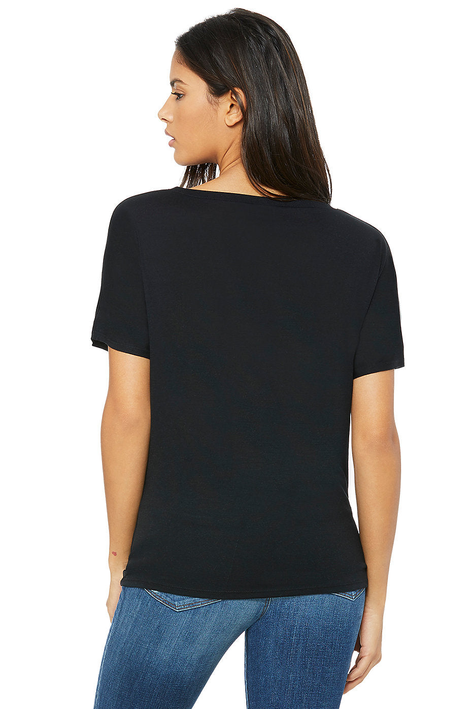 Perfectly Imperfect - Diamond - Slouchy & Soft V Neck T-shirt by Midwinter Co.