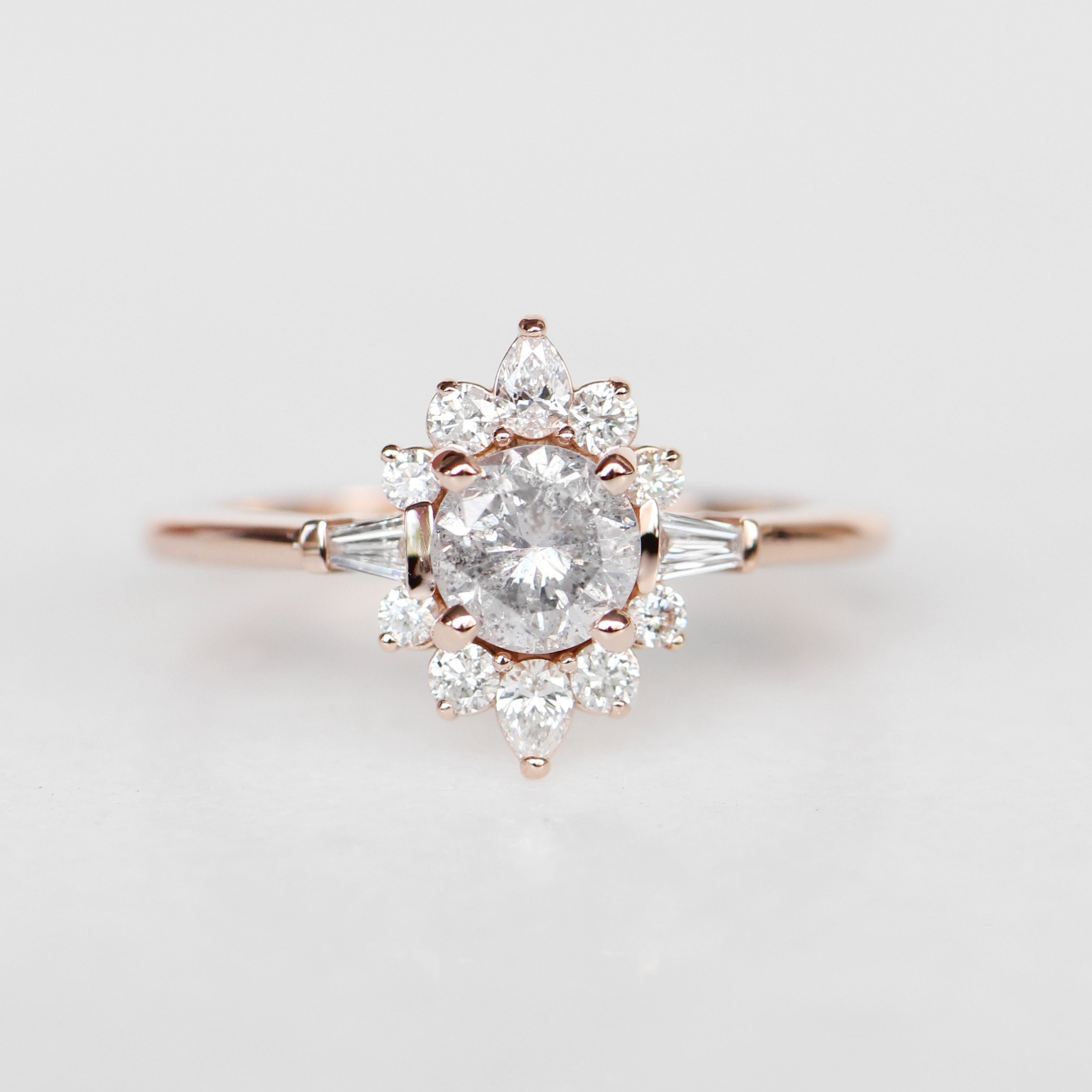 Atlas Setting - Salt & Pepper Celestial Diamond Engagement Rings and Wedding Bands  by Midwinter Co.