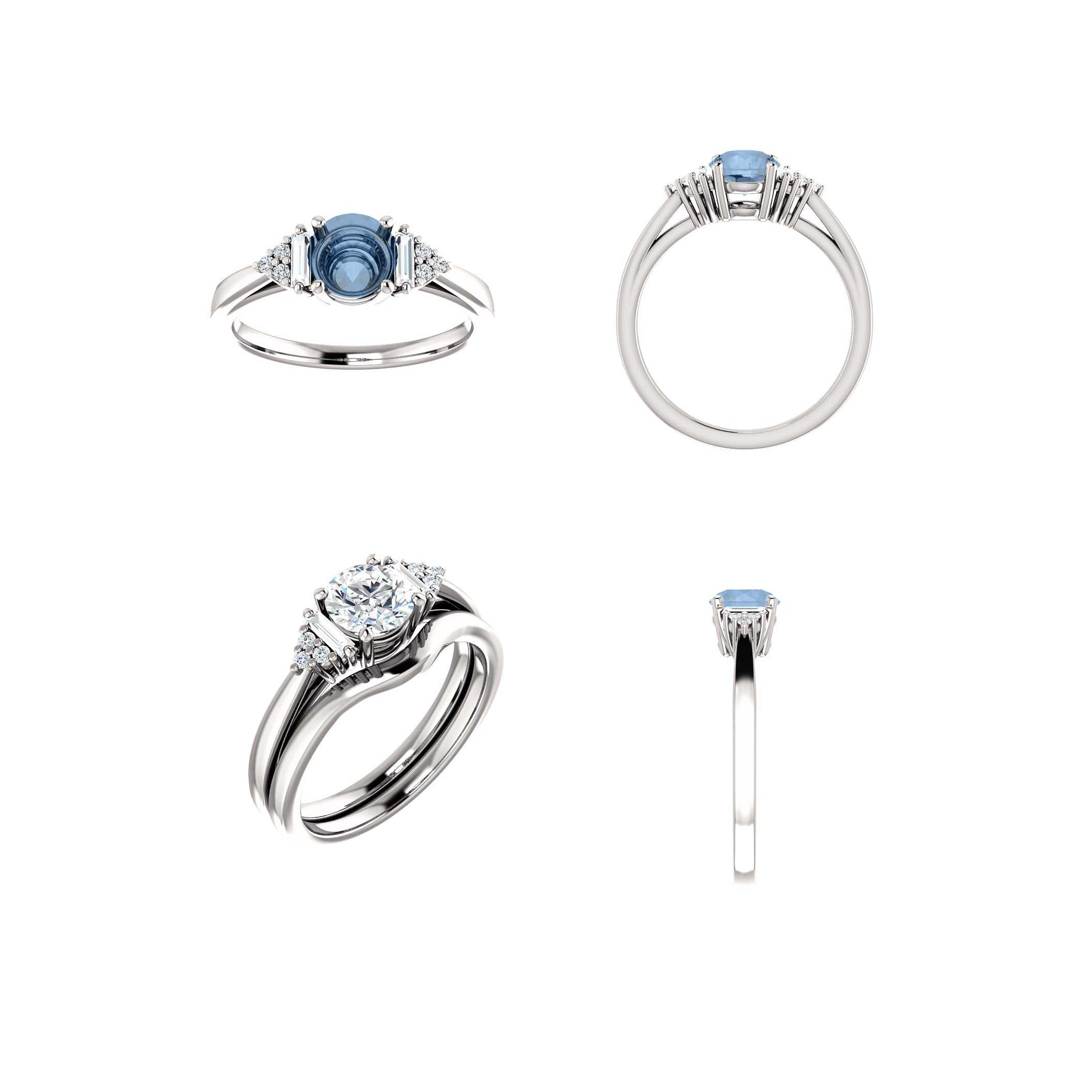 Autumn Setting - Midwinter Co. Alternative Bridal Rings and Modern Fine Jewelry