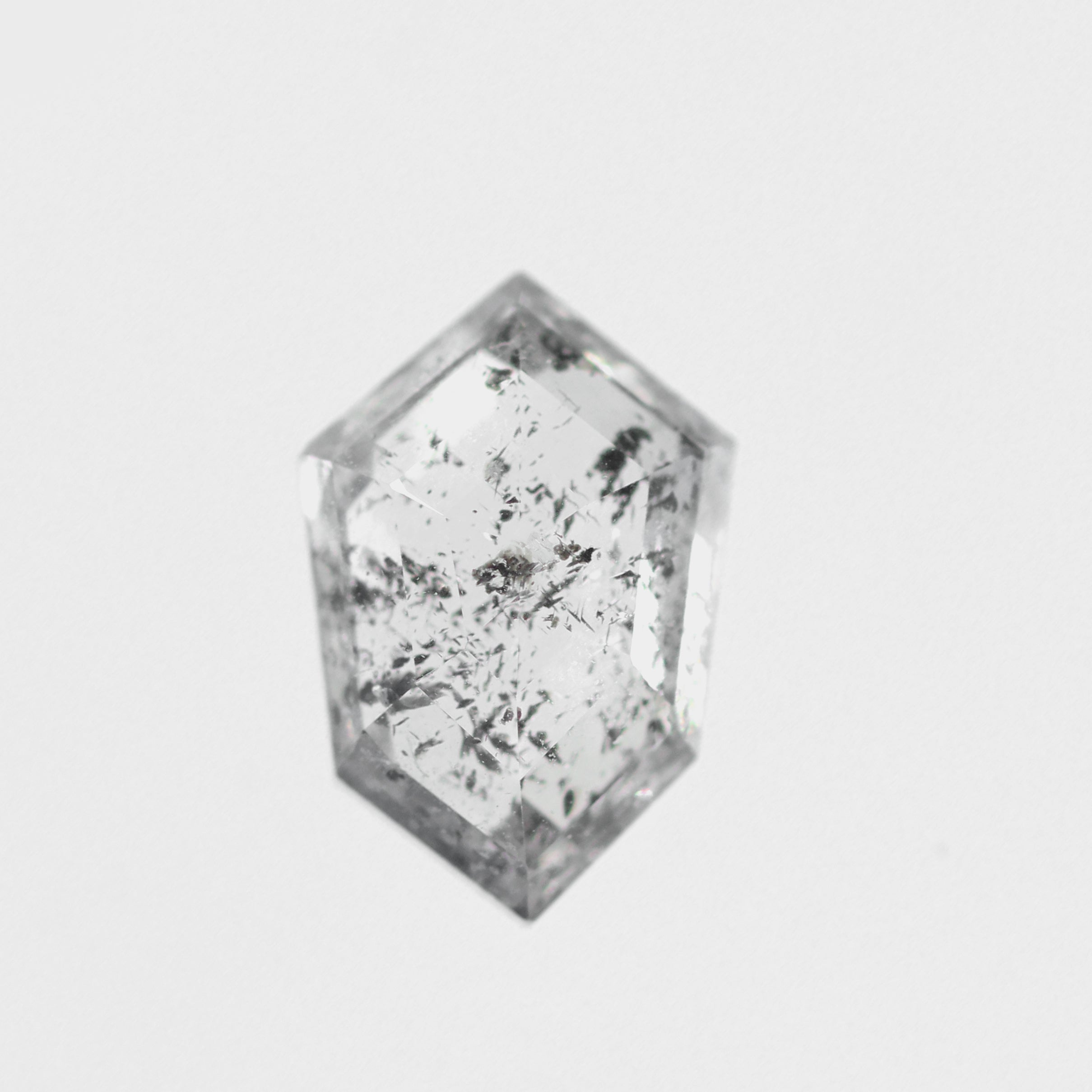 1.03ct Clear Celestial Shield Shaped Celestial Diamond® for Custom Work - Inventory Code BCCS103 - Celestial Diamonds ® by Midwinter Co.