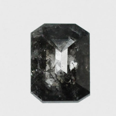 .89 carat rose cut dark black celestial diamond for custom work - inventory code: BE89