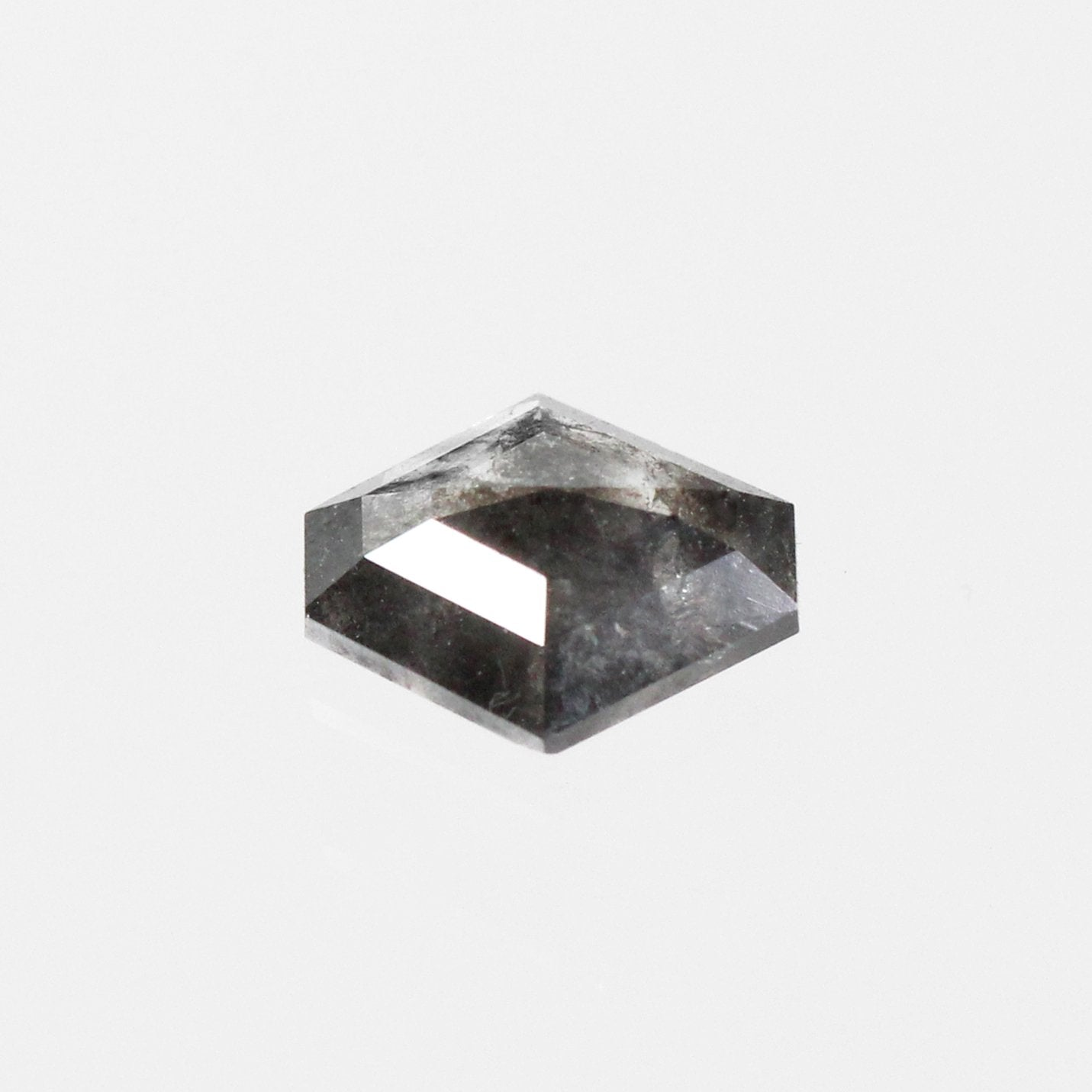 .85 carat Celestial Rose Cut Hexagon Diamond - Inventory Code BHEX