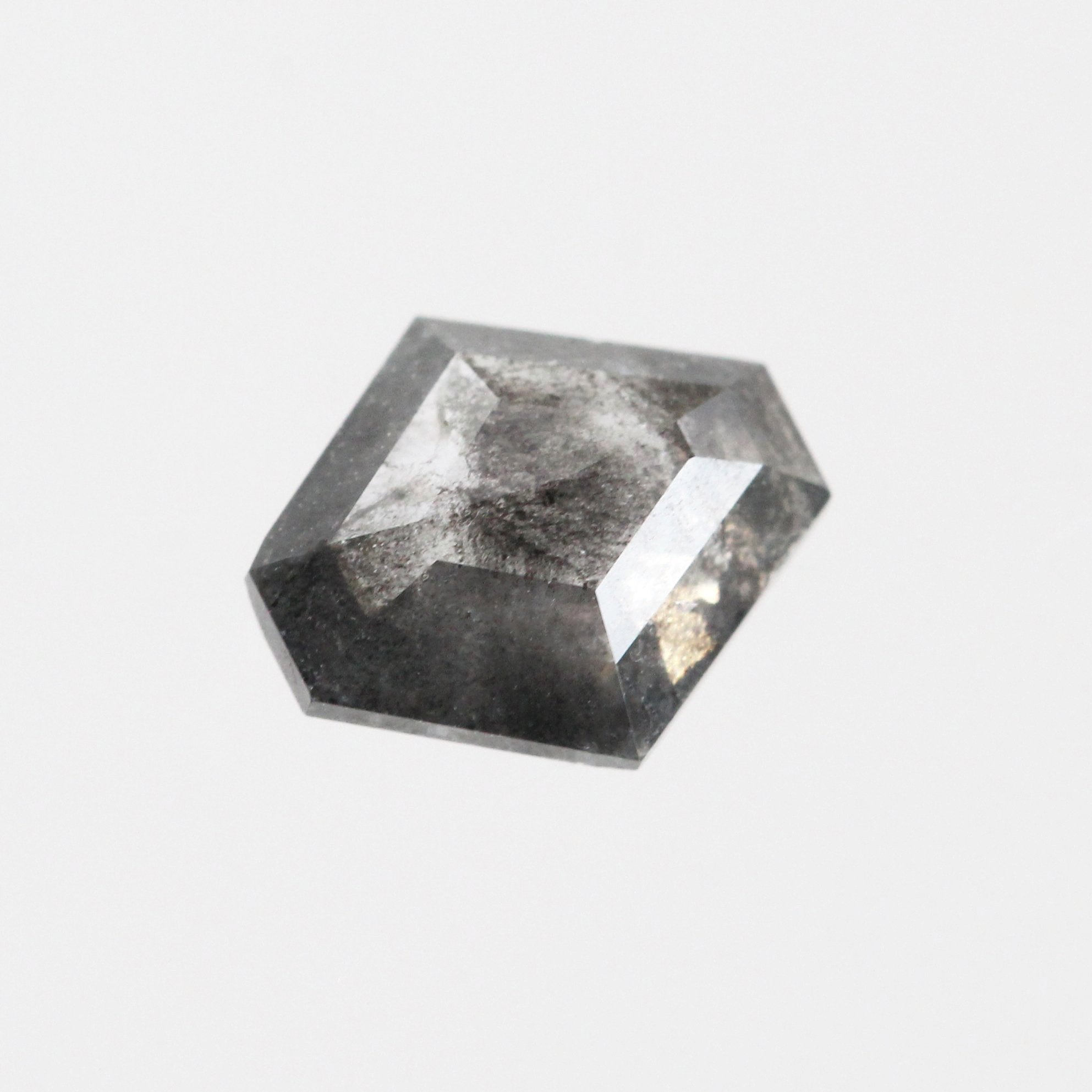 .85 carat Celestial Rose Cut Hexagon Diamond - Inventory Code BHEX85