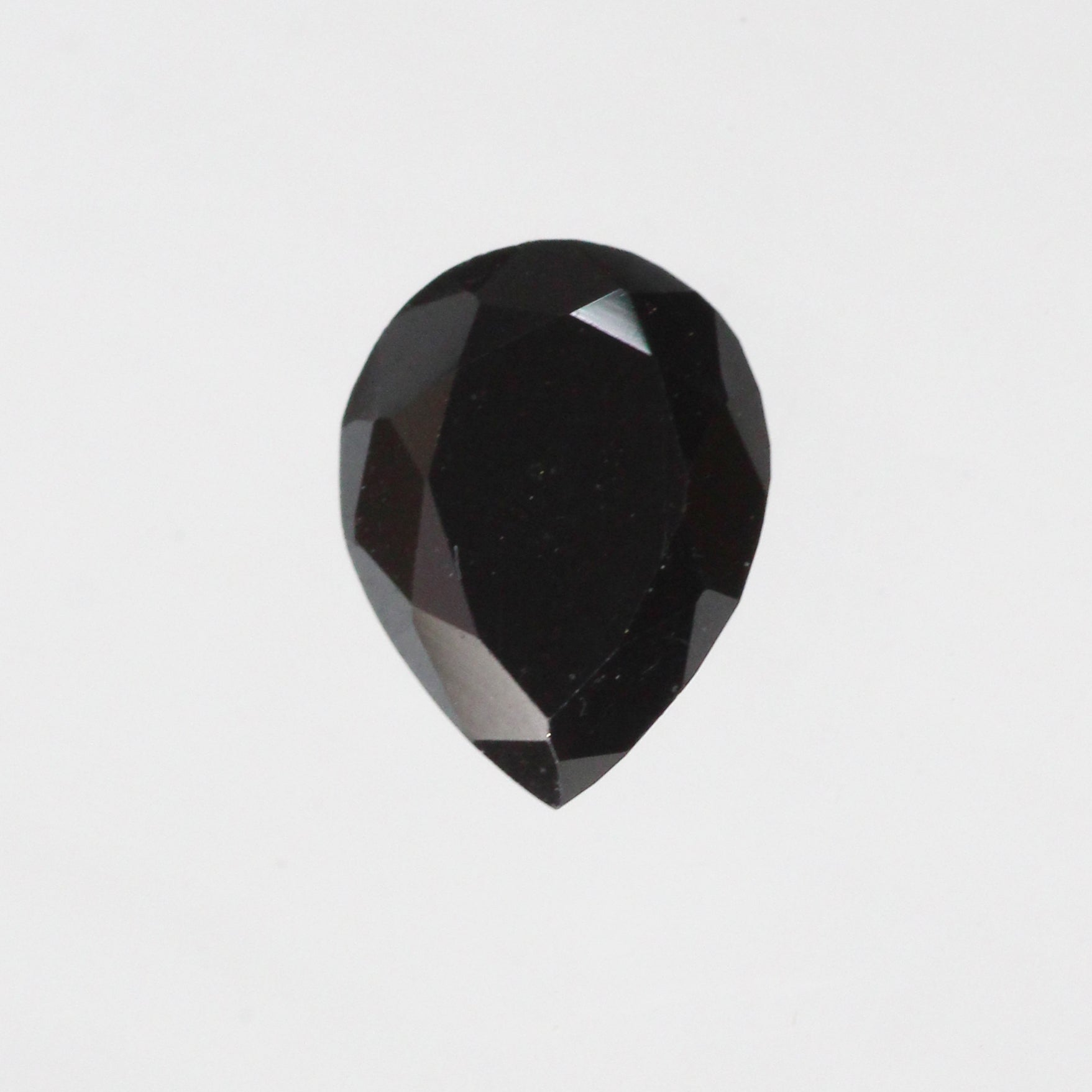 .99 carat Certified Black Pear Diamond - Inventory Code BP99