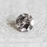 .60 carat 5.4mm Black Clear Celestial Diamond - Inventory code BC5.4