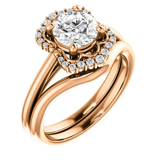 Bianca Setting - Celestial Diamonds ® by Midwinter Co.