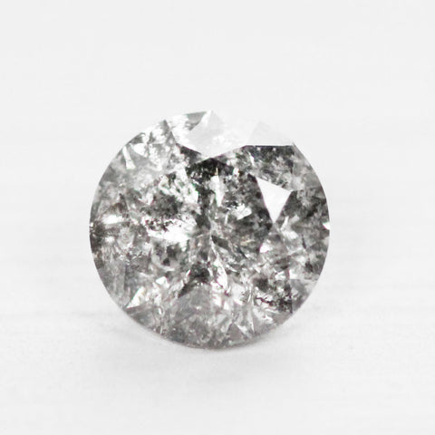 1.74 carat Celestial Clear Round Brilliant Cut Diamond for Custom Work - Inventory Code CBR174