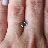 .70 carat black celestial diamond champagne gray for custom work - inventory code CBR70