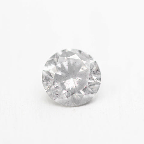 .81ct 6mm celestial gray round diamond - stock inventory code CBR81