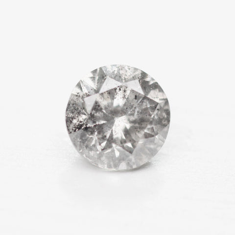.87ct 5.9mm celestial gray round diamond - stock inventory code CBR87
