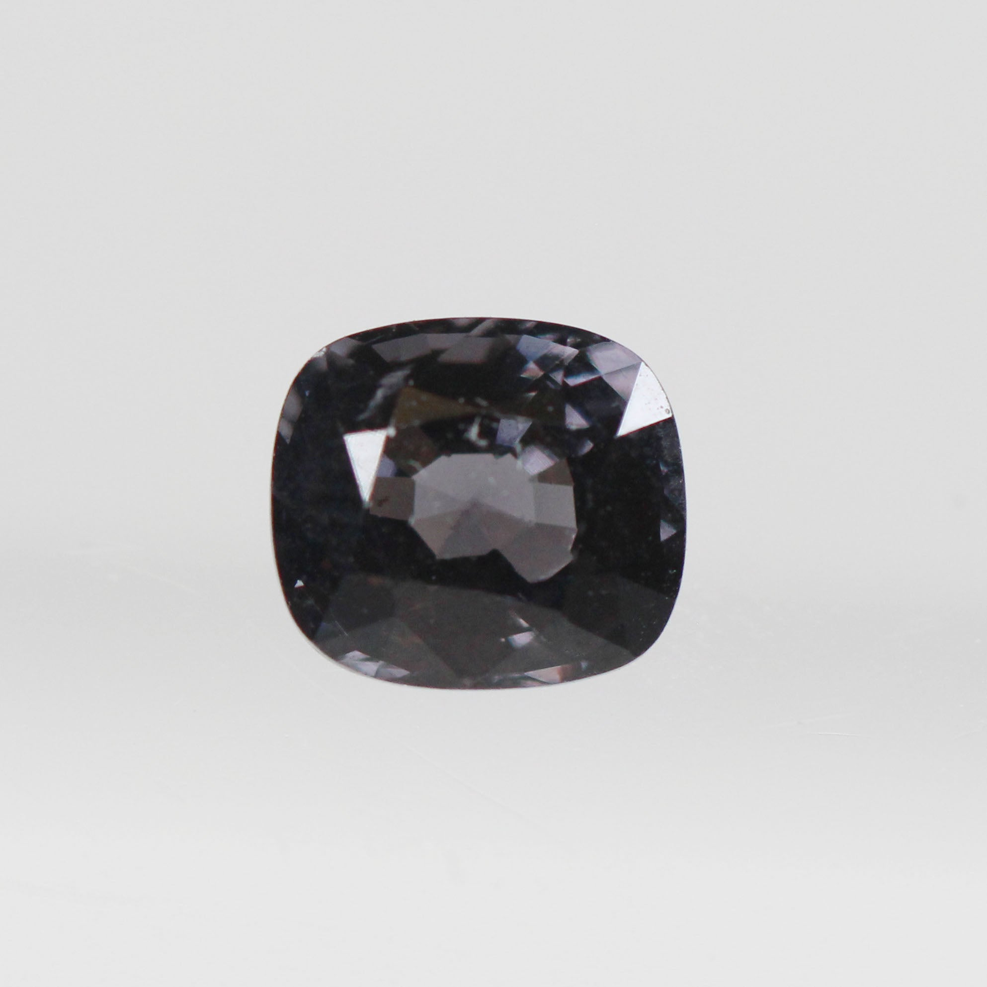 1.41 Carat Cushion Spinel for Custom Work - Inventory Code CBSP141 - Salt & Pepper Celestial Diamond Engagement Rings and Wedding Bands  by Midwinter Co.