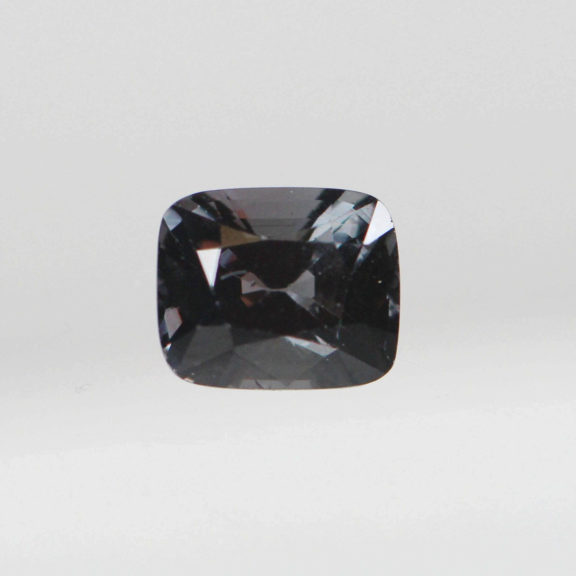 1.92 Carat Cushion Spinel for Custom Work - Inventory Code CBSP192 - Salt & Pepper Celestial Diamond Engagement Rings and Wedding Bands  by Midwinter Co.