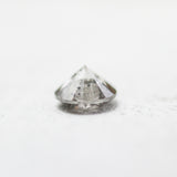 .97 carat 6mm clear medium gray celestial diamond - Midwinter Co. studio inventory code: CC97B