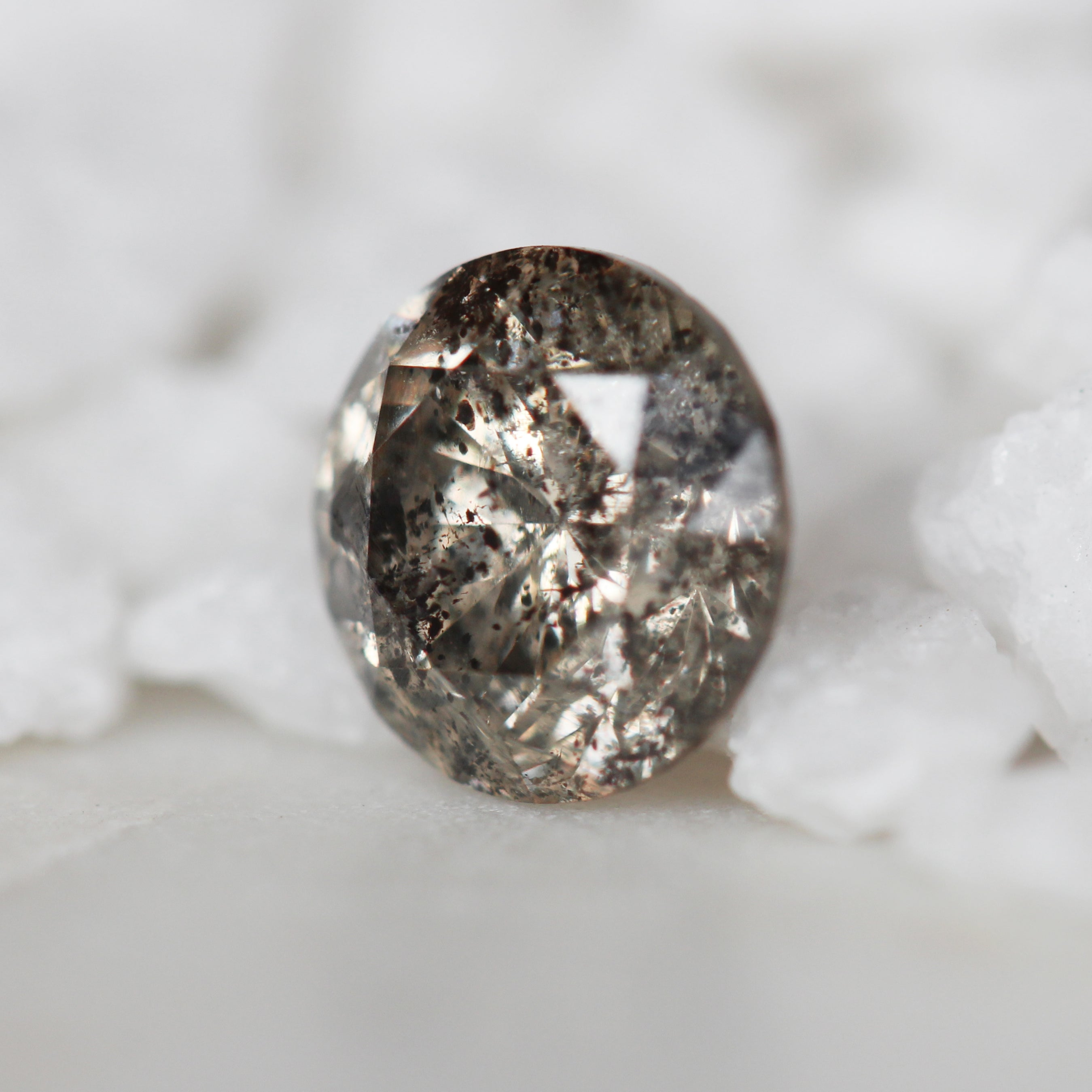 .95 Carat Round Celestial Diamond for Custom Work - Inventory Code CHBR95 - Midwinter Co. Alternative Bridal Rings and Modern Fine Jewelry