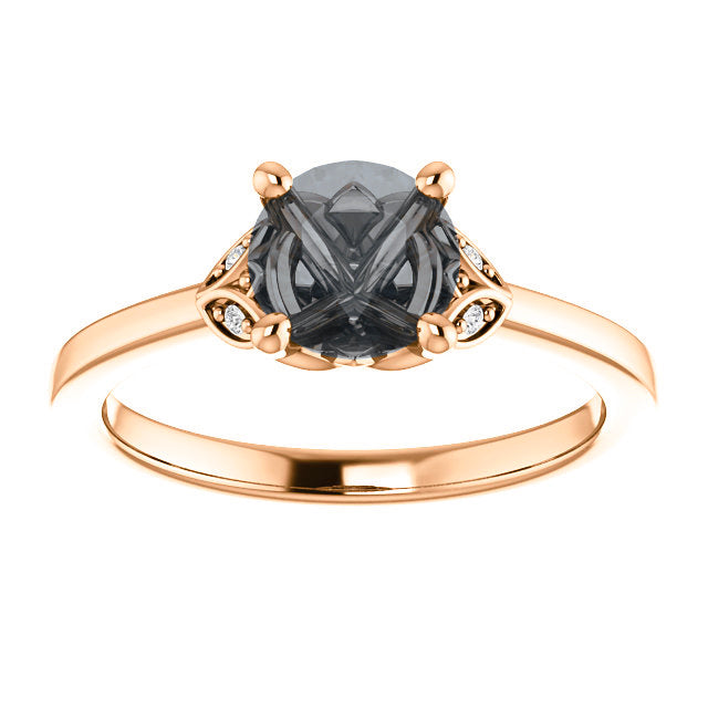 Cecelia Setting - Celestial Diamonds ® by Midwinter Co.