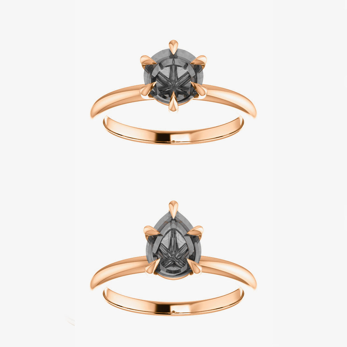 Charlotte Setting - Celestial Diamonds ® by Midwinter Co.