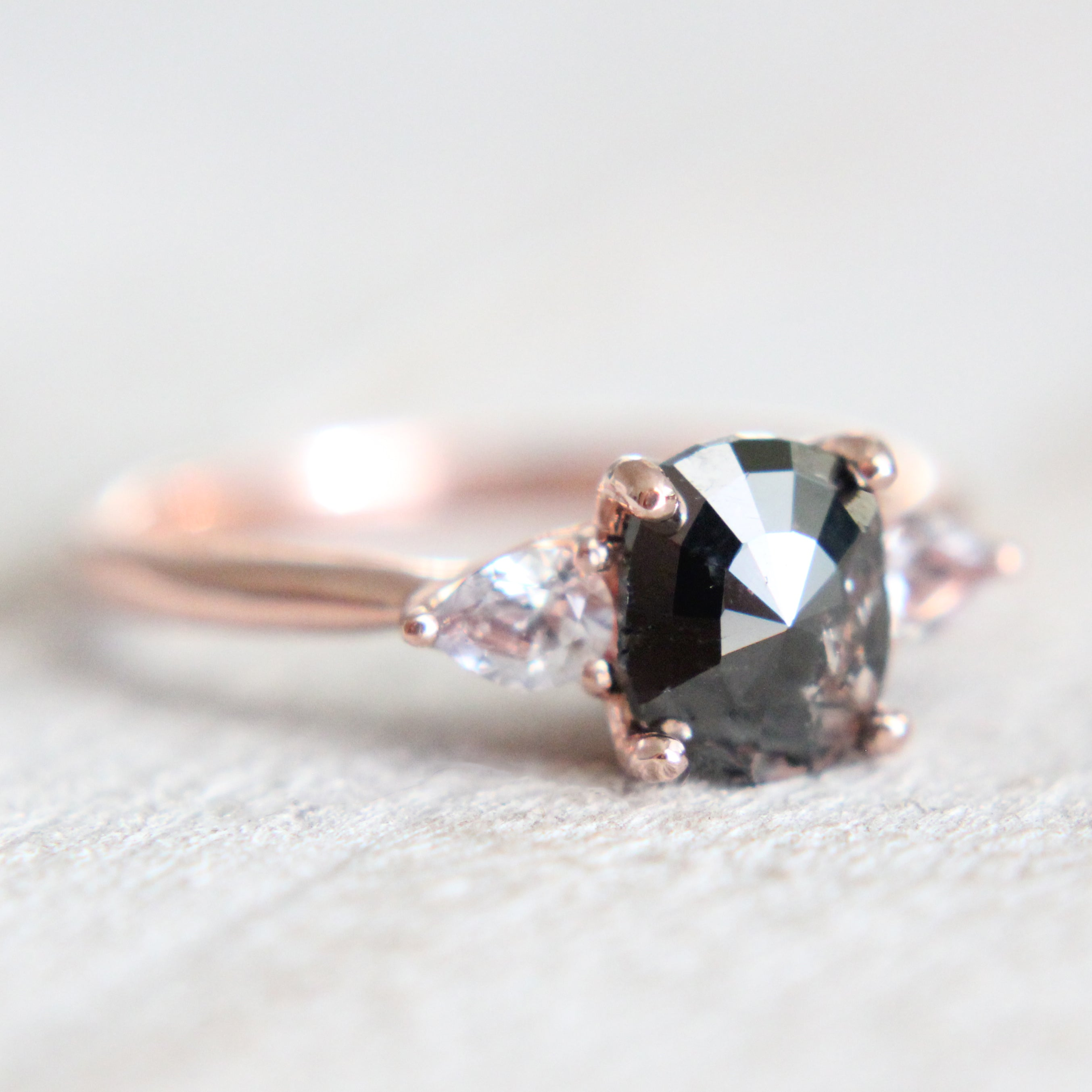 Oleander setting - Midwinter Co. Alternative Bridal Rings and Modern Fine Jewelry