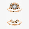 Cleo Setting - Celestial Diamonds ® by Midwinter Co.