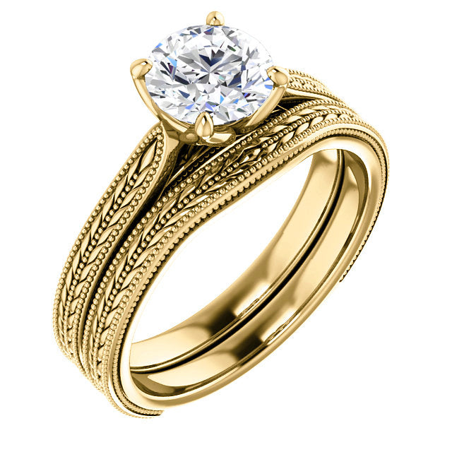Edith Setting - Midwinter Co. Alternative Bridal Rings and Modern Fine Jewelry