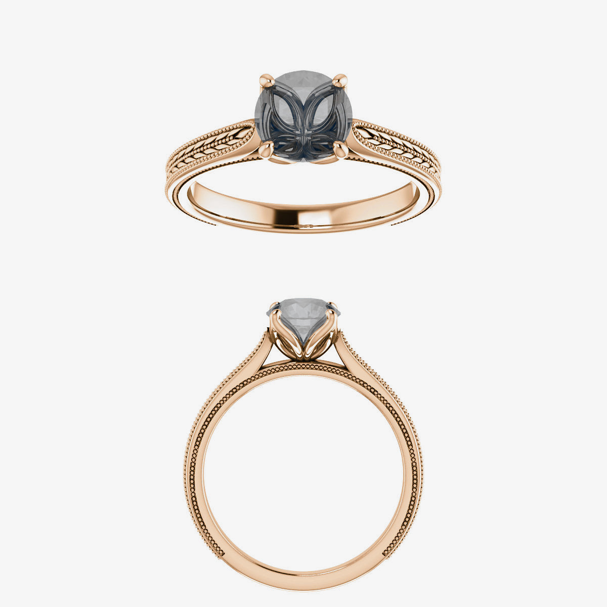 Edith Setting - Celestial Diamonds ® by Midwinter Co.