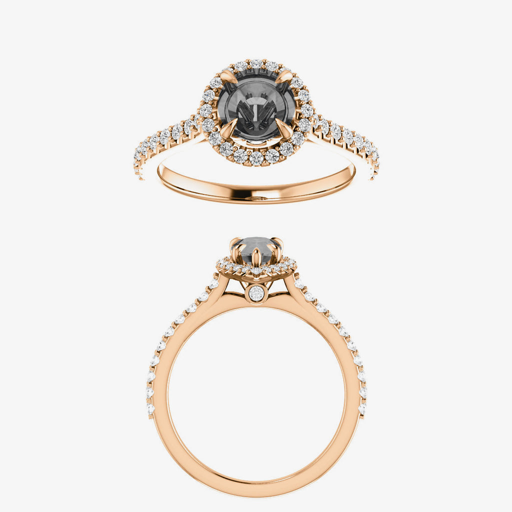 Elda Setting - Celestial Diamonds ® by Midwinter Co.