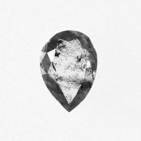 .75 carat Gray Celestial Pear Diamond - Inventory Code GP75