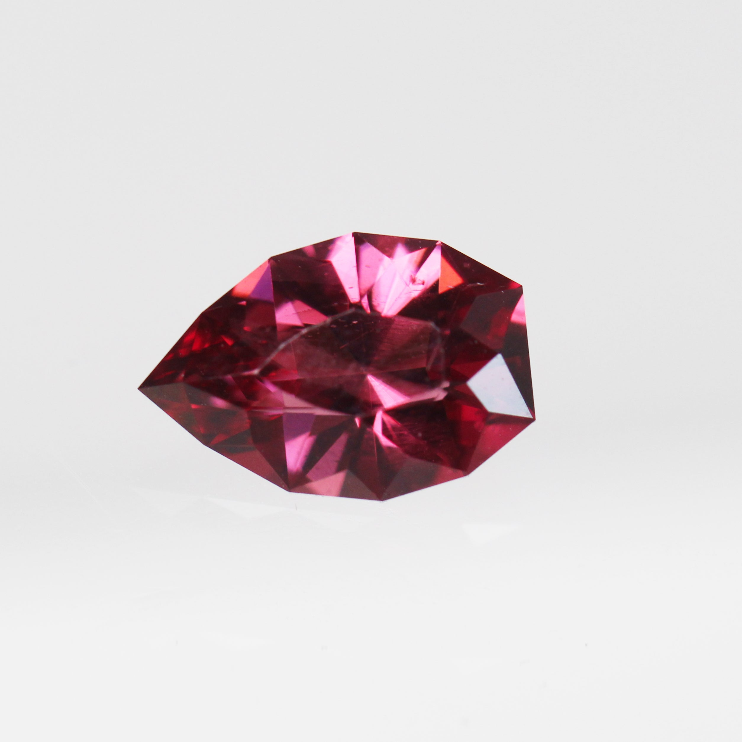 2.30 Carat Geometric Pear Garnet for Custom Work - Inventory Code GPG230 - Celestial Diamonds ® by Midwinter Co.