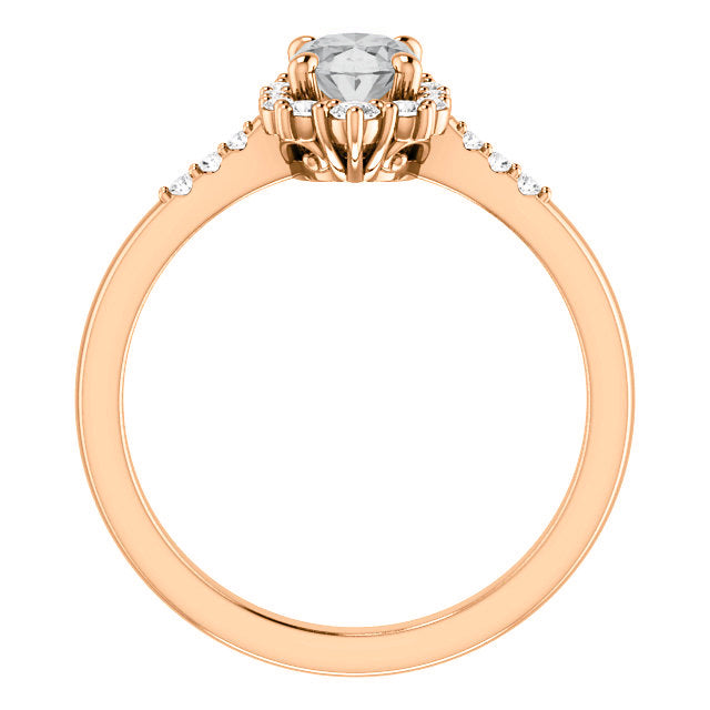 Grace Setting - Celestial Diamonds ® by Midwinter Co.