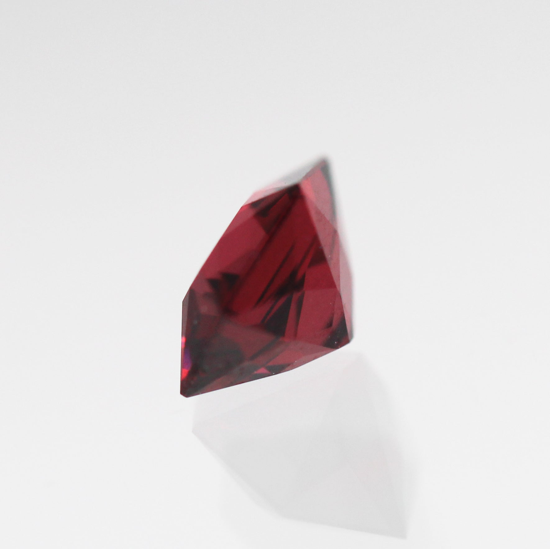 1.37 Carat Hexagon Garnet for Custom Work- Inventory Code HBG137 - Celestial Diamonds ® by Midwinter Co.
