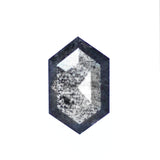 .7 carat Gray Black Hexagon Diamond for Custom Work - Inventory Code HEX70