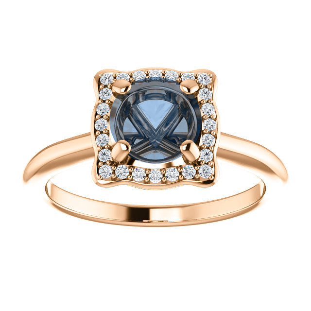 Hannah Setting - Celestial Diamonds ® by Midwinter Co.