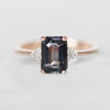 Imogene Ring with a 1.97ct Spinel in 10k Rose Gold - Ready to Size and Ship - Celestial Diamonds ® by Midwinter Co.