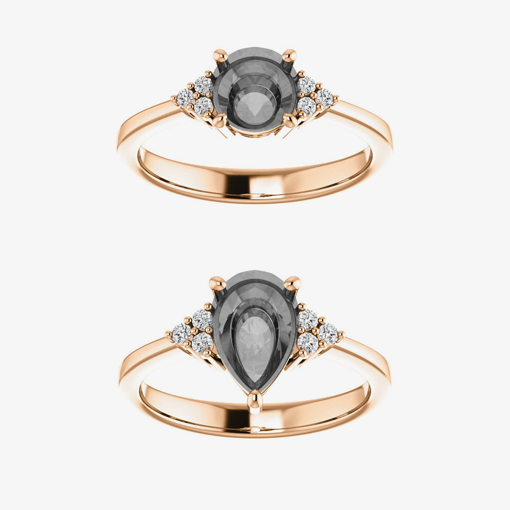 Imogene setting - Celestial Diamonds ® by Midwinter Co.
