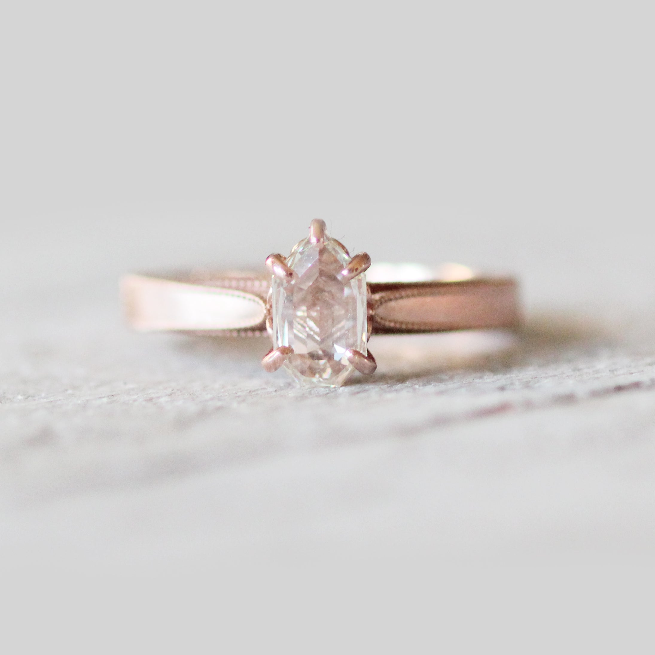 Jane setting - Midwinter Co. Alternative Bridal Rings and Modern Fine Jewelry