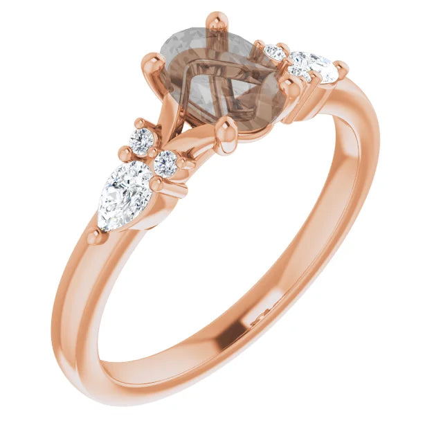 Jenna Setting - Midwinter Co. Alternative Bridal Rings and Modern Fine Jewelry