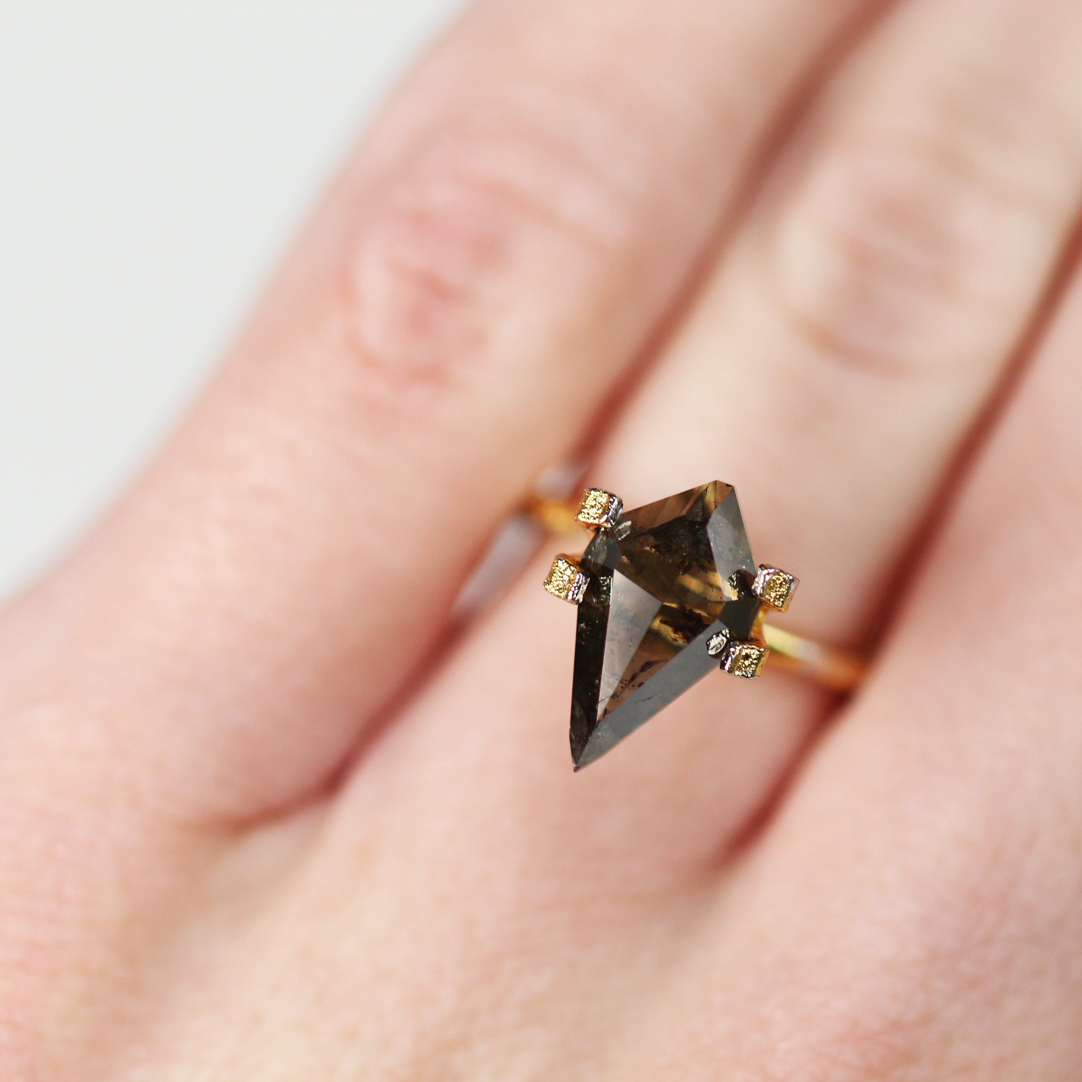 2.20 Carat Kite Celestial Diamond - Inventory Code KRB220 - Midwinter Co. Alternative Bridal Rings and Modern Fine Jewelry
