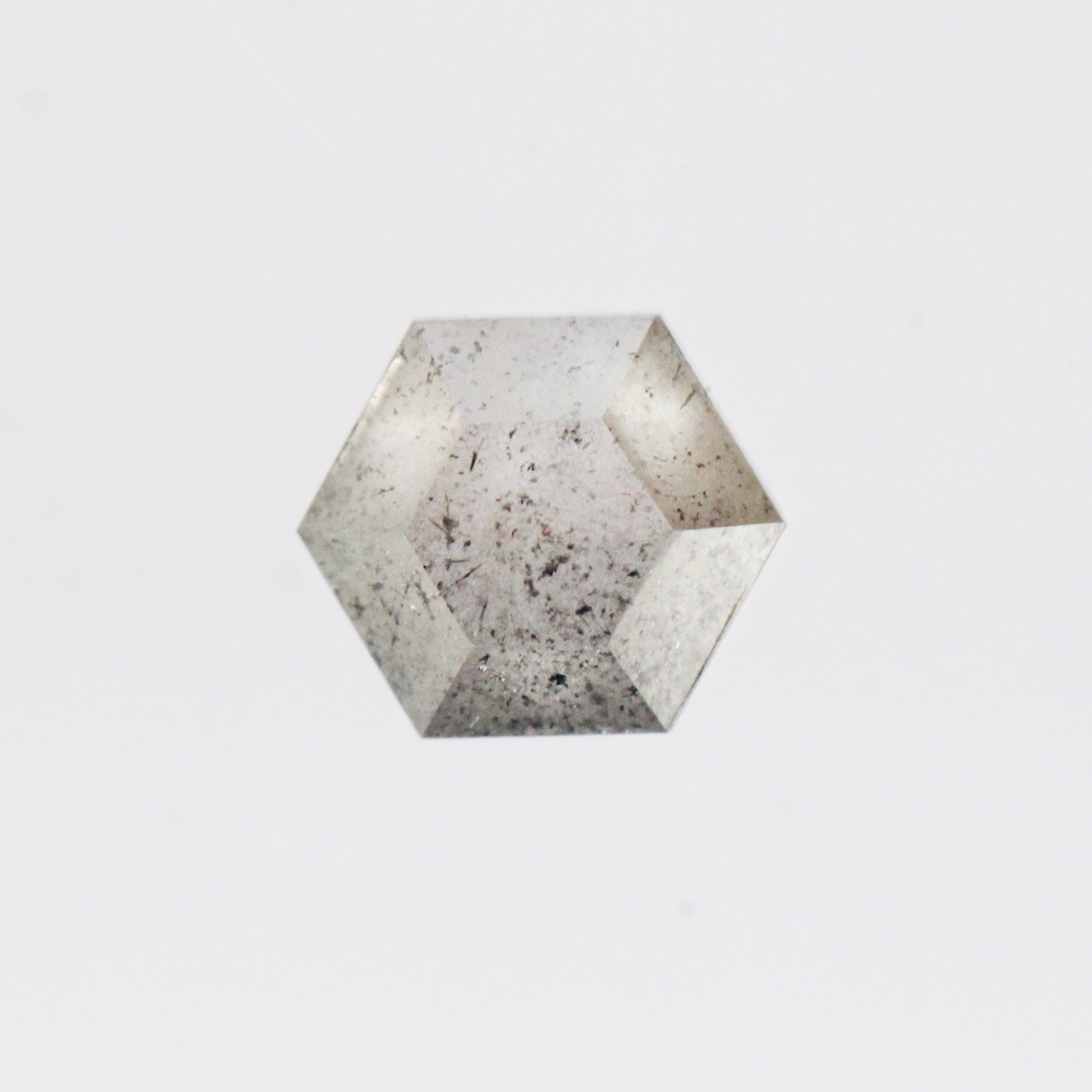 .83 Carat Hexagon Celestial Diamond® for Custom Work - Inventory Code LGH83 - Celestial Diamonds ® by Midwinter Co.