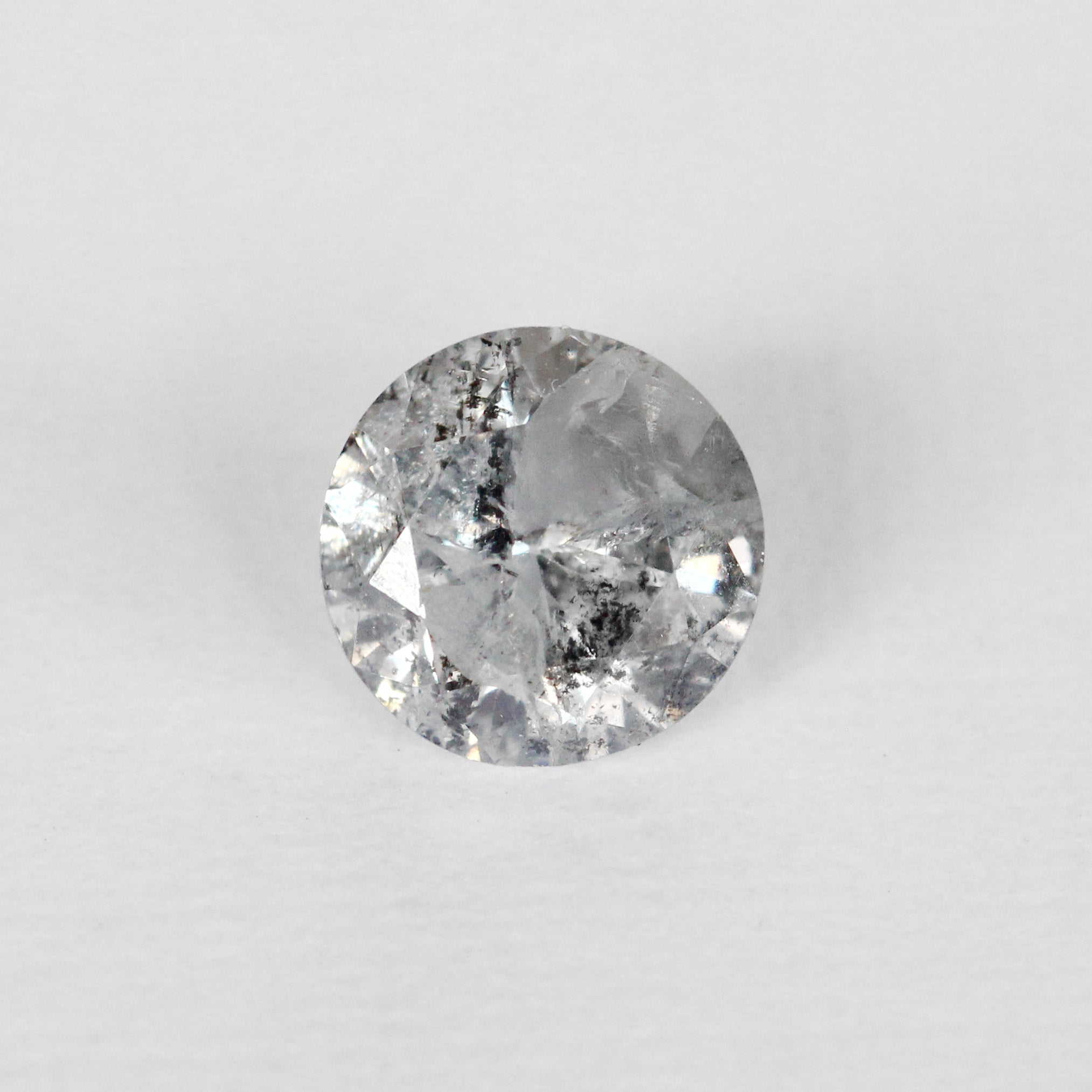 .90 carat natural brilliant round celestial diamond for custom work - inventory code MGBR90 - Celestial Diamonds ® by Midwinter Co.