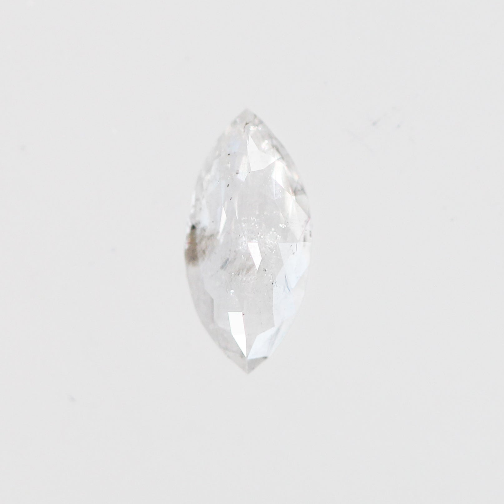 .37 Carat Marquise Celestial Diamond for Custom Work - Inventory Code MRC37 - Salt & Pepper Celestial Diamond Engagement Rings and Wedding Bands  by Midwinter Co.