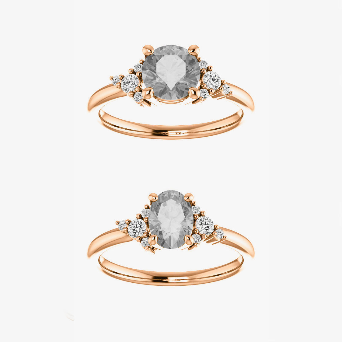 Marley Setting - Celestial Diamonds ® by Midwinter Co.