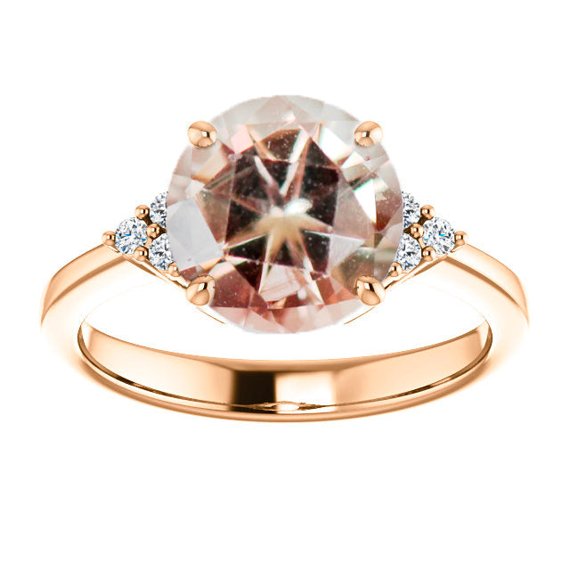 1.99 Carat Round Sunstone- Inventory Code RBSUN199 - Celestial Diamonds ® by Midwinter Co.