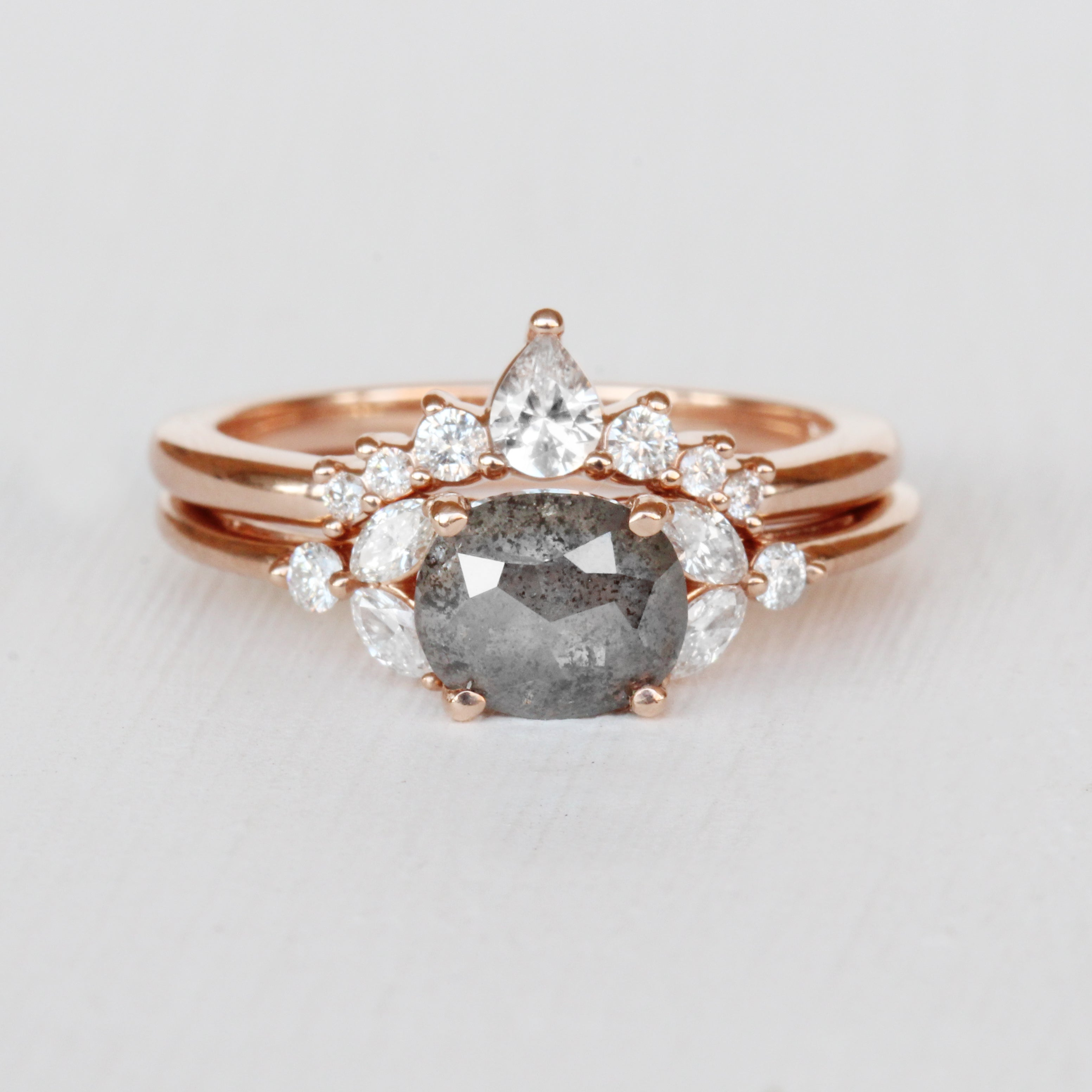 Moira - Contoured Diamond Wedding Stacking Band - made to order - Celestial Diamonds ® by Midwinter Co.