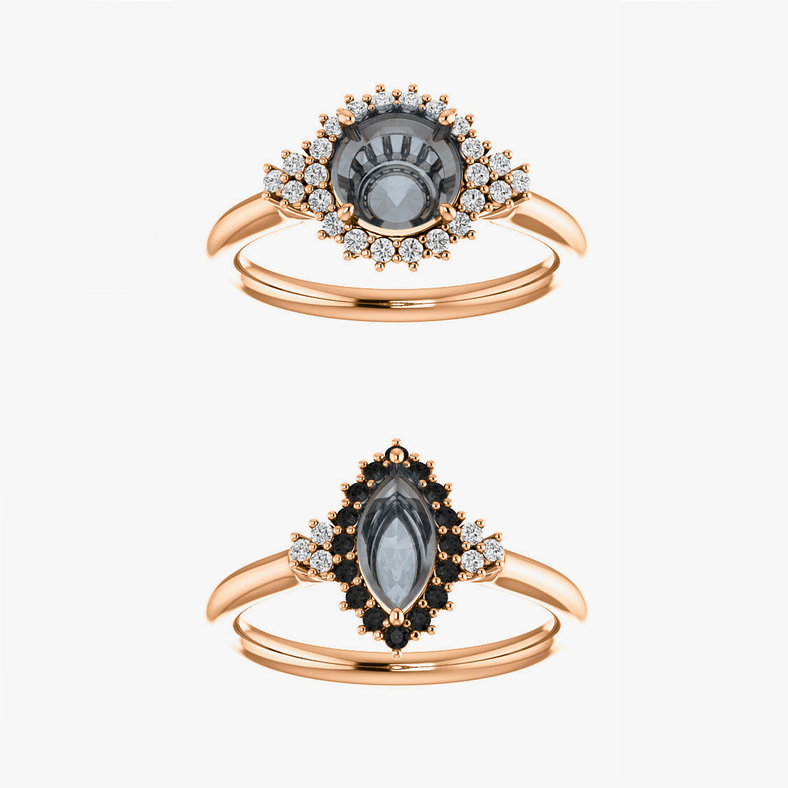 Nanette Setting - Celestial Diamonds ® by Midwinter Co.