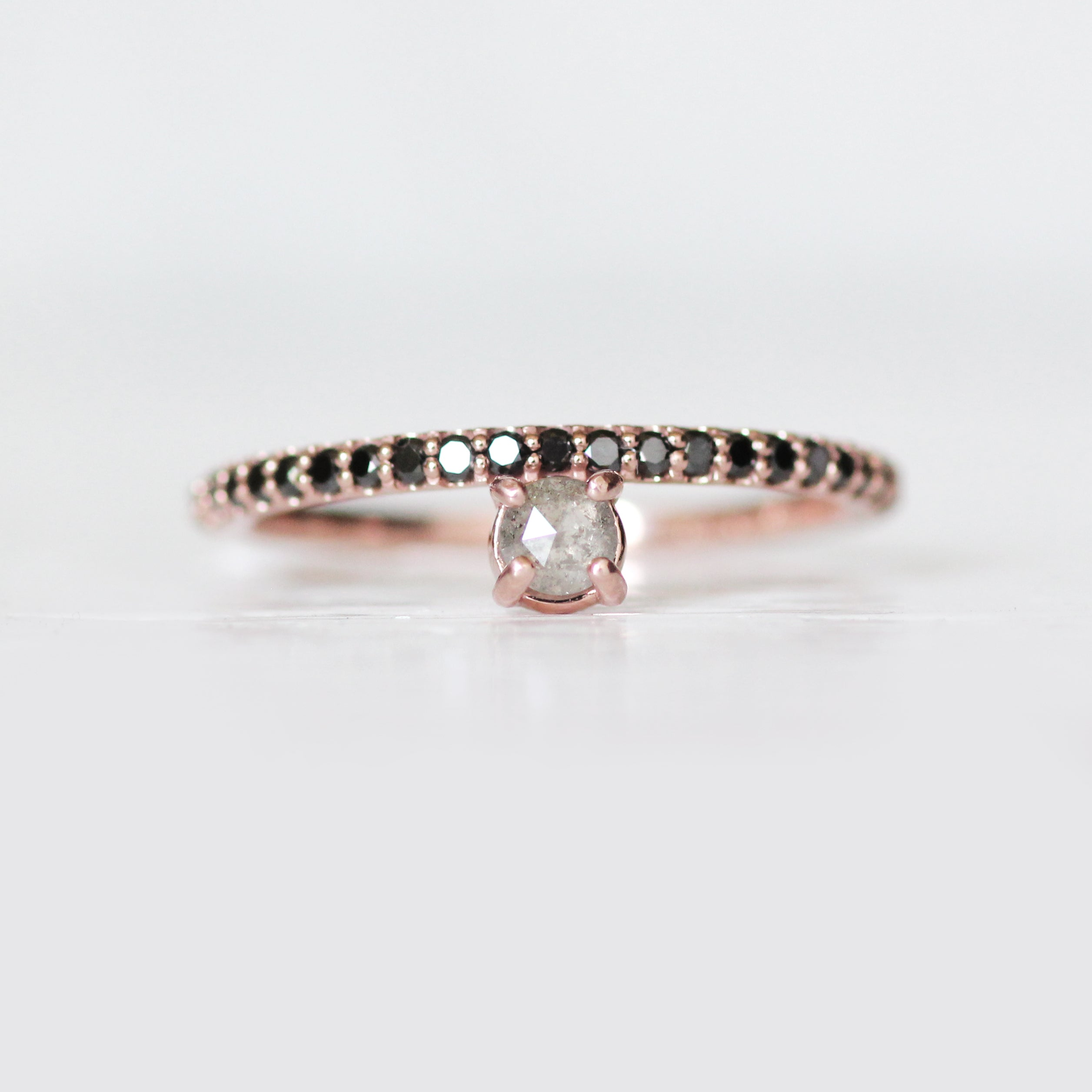 Nellie Made to order customizable stacking asymmetrical diamond