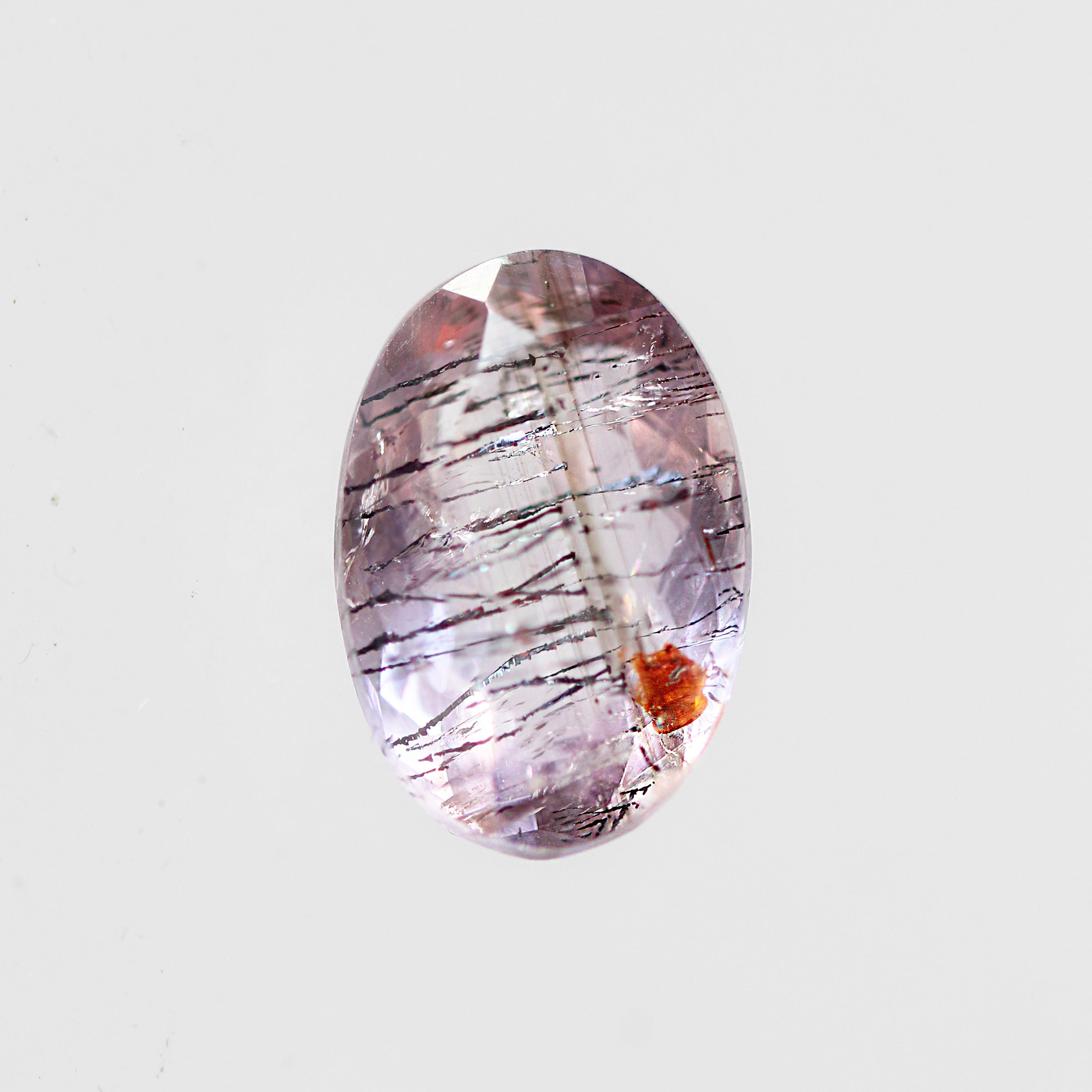 4.44 Carat Oval Quartz- Inventory Code OBQR444 - Celestial Diamonds ® by Midwinter Co.
