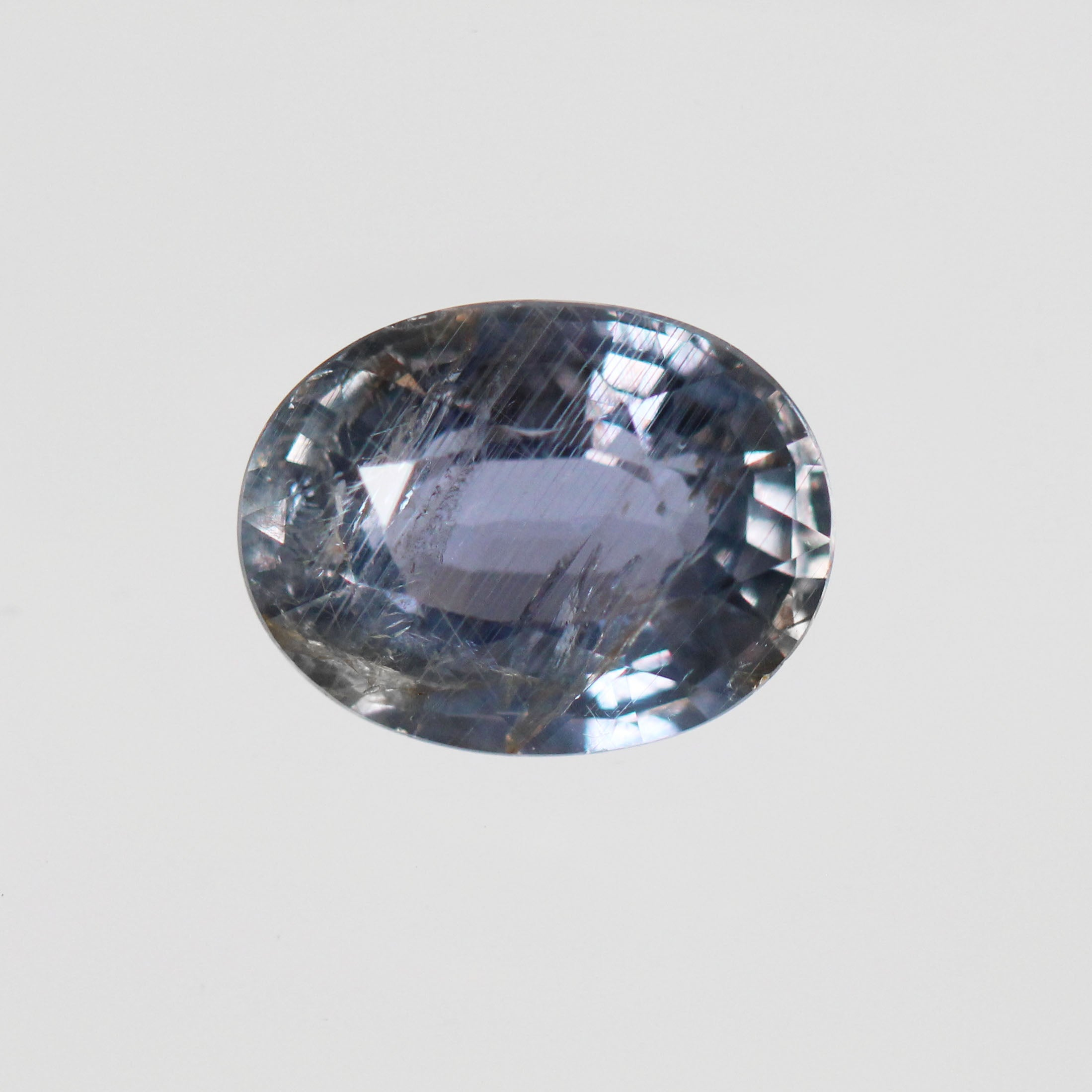 5.43 Carat Oval Sapphire for Custom Work - Inventory Code OBSAP543 - Midwinter Co. Alternative Bridal Rings and Modern Fine Jewelry