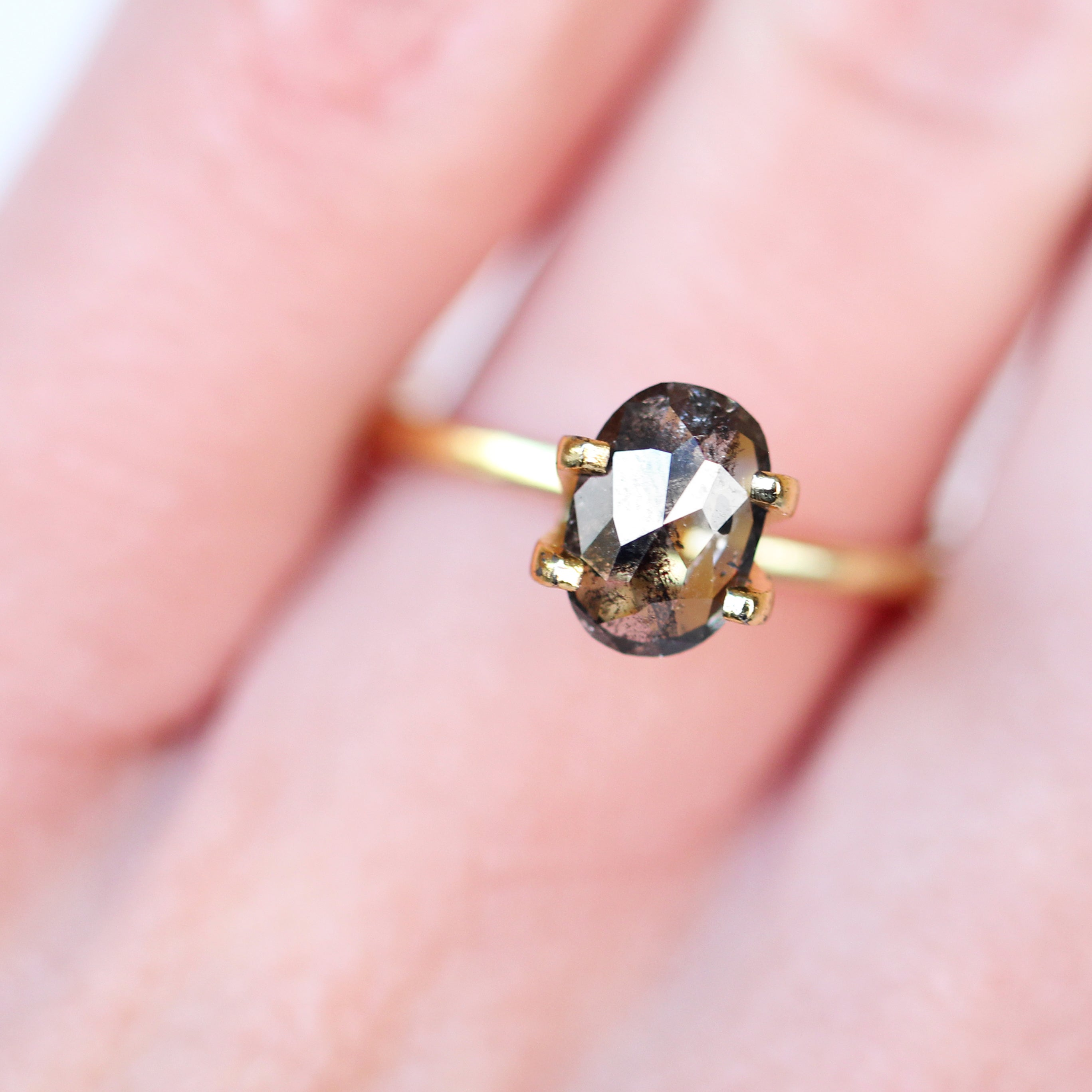 1.26 Carat Oval Celestial Diamond® for Custom Work - Inventory Code ORB126 - Midwinter Co. Alternative Bridal Rings and Modern Fine Jewelry