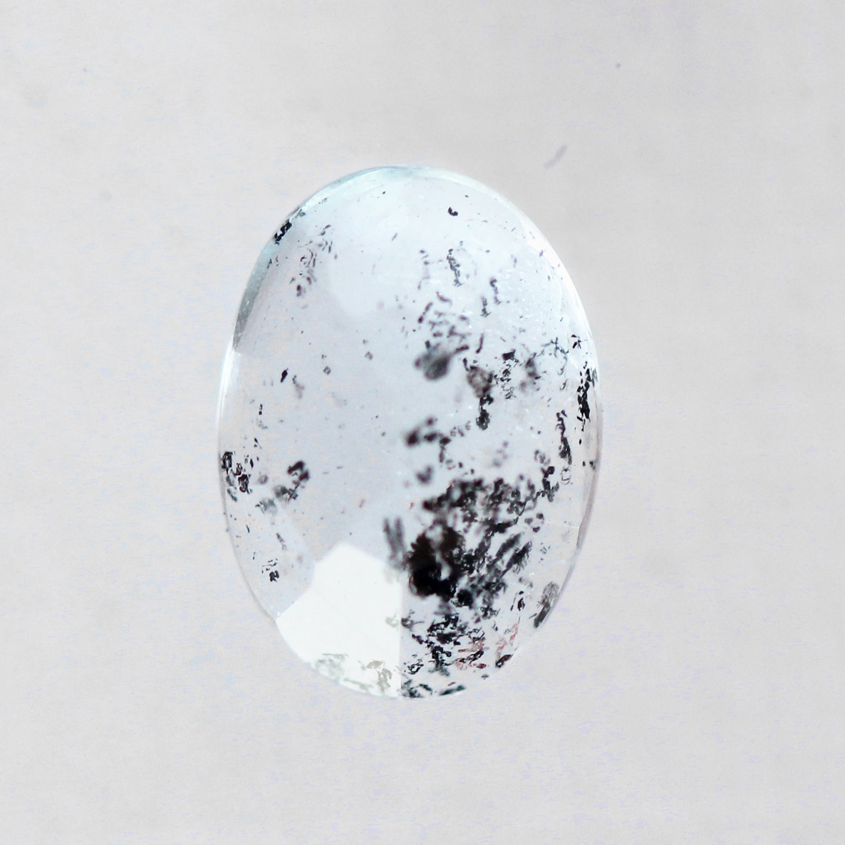 2.16 Carat Oval Moss Aquamarine-Inventory Code ORMA216 - Celestial Diamonds ® by Midwinter Co.