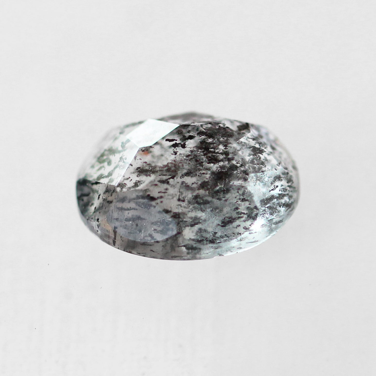 2.71 Carat Oval Moss Aquamarine- Inventory Code ORMA271 - Celestial Diamonds ® by Midwinter Co.