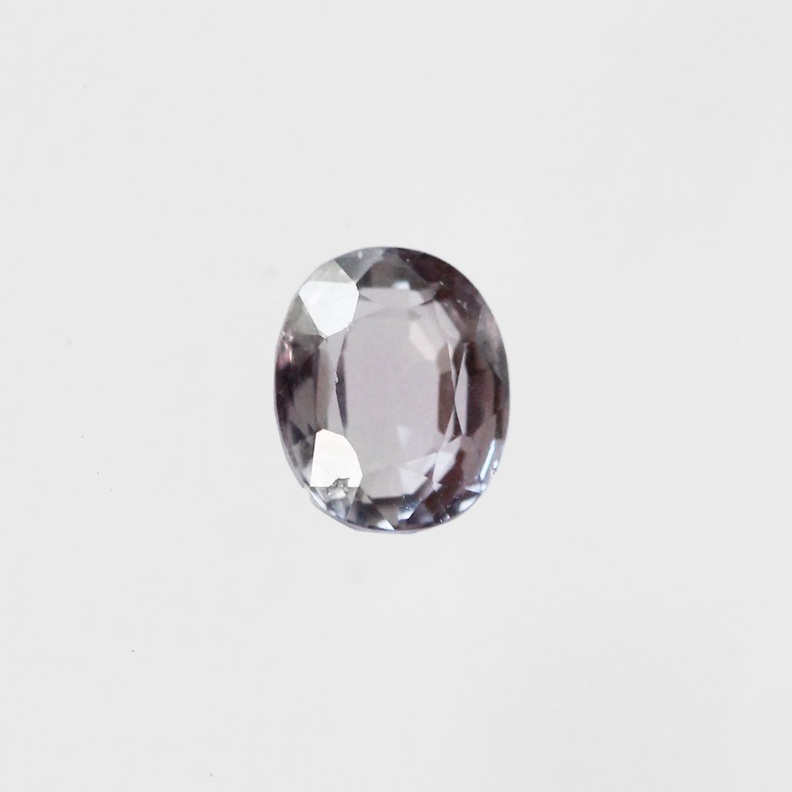 1.08 Carat Oval Spinel for Custom Work - Inventory Code OSP108 - Salt & Pepper Celestial Diamond Engagement Rings and Wedding Bands  by Midwinter Co.